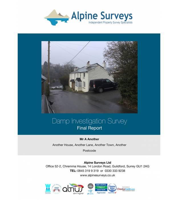 Alpine Damp Survey